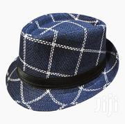 Checkered and Very Stylish Unisex Fedora Hat - Blue | Clothing Accessories for sale in Central Region, Kampala