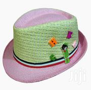 Kid's Fashionable and Very Stylish Unisex Fedora Hat - Pink, Cream | Children's Clothing for sale in Central Region, Kampala