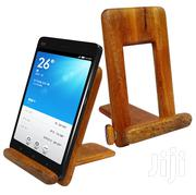 Adjustable, Portable and Unique Wooden Phone Holder or Stand - Brown | Accessories for Mobile Phones & Tablets for sale in Central Region, Kampala