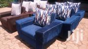 5 Seater Fabric Sofa Set. Excellent Finishing, Ready to Take | Furniture for sale in Central Region, Kampala