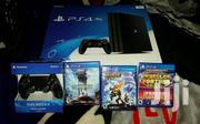 Sony Playstation 4 Pro Black With 2 Controllers | Video Game Consoles for sale in Central Region, Kampala