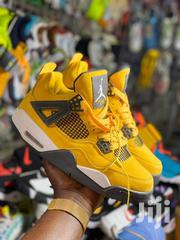 Jordan Red Yellow Classicwear | Shoes for sale in Central Region, Kampala