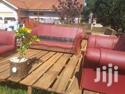 Vintage 6 Seaters Leather Sofa   Furniture for sale in Central Region, Kampala