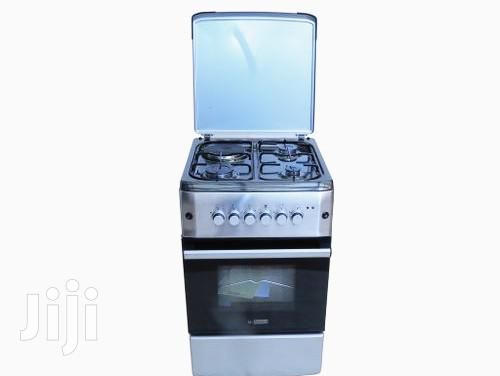 Blueflame S5031ER-MIR - Cooker 50x55cm 3 Gas + 1 Electric Gas Oven -