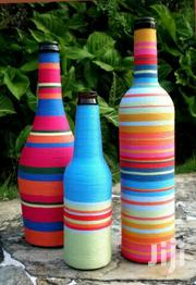 Homemade Decorative Wine Bottles | Arts & Crafts for sale in Central Region, Mukono
