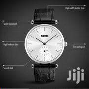 Men'S Classic Retro Leather Strap Waterproof Wristwatch | Watches for sale in Central Region, Kampala