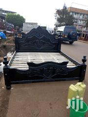 Simple Bed 5x6 Black | Furniture for sale in Central Region, Kampala