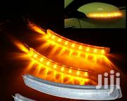 Universal Soft LED Yellow Side Mirror Light Indicators | Vehicle Parts & Accessories for sale in Central Region, Kampala