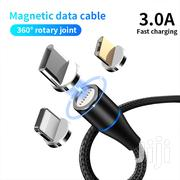 Magnetic Pin USB Charging And Data Cable For iPhone, USB-C & Micro USB | Accessories for Mobile Phones & Tablets for sale in Central Region, Kampala