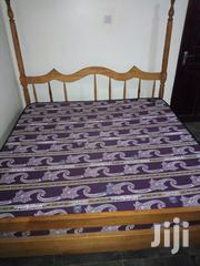 Used 6x6 Family Size Bed And Mattress | Furniture for sale in Central Region, Kampala