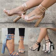 Transparent Buckle Heels | Shoes for sale in Central Region, Kampala