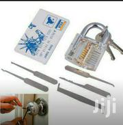 5pcs Lock Pick Set Locksmith Training Tool Transparent Visible Padlock | Home Accessories for sale in Central Region, Kampala