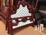 King Size Leathered Bed | Furniture for sale in Central Region, Kampala