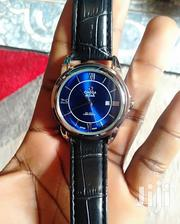Omega Leather Strap Watch With Date | Watches for sale in Central Region, Kampala