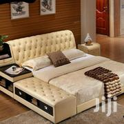 Danish Leather Bed | Furniture for sale in Central Region, Kampala
