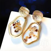 Transparent Fashion Jewelry Drop Earrings With Gold Plating. | Jewelry for sale in Central Region, Kampala