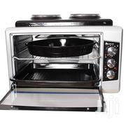 Blueflame 50 Litres Mini Oven BF-0725 + 2 Hot Plates - Inox | Restaurant & Catering Equipment for sale in Central Region, Kampala