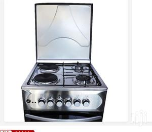 Blueflame S5022E-I-R - Cooker 50x55cm 2+2 Electric Oven - Stainless