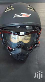 JS Helmet With Mask. | Motorcycles & Scooters for sale in Central Region, Kampala
