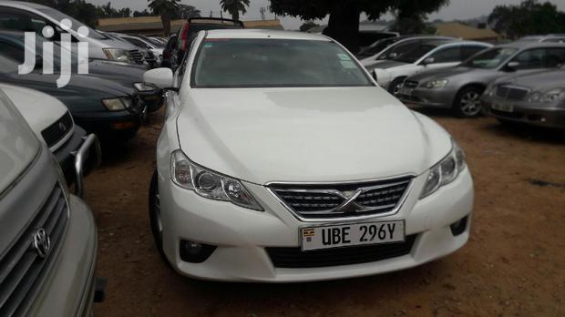 Archive: Toyota Mark X 2011 White