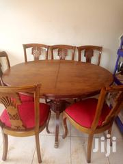 6 Seater Adjustable Wooden Dining Table With 6 Chairs | Furniture for sale in Central Region, Kampala