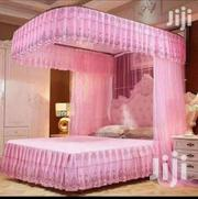6 By 6 Bed Size Two Stand Rail Mosquito Net (Cream, Pink And Purple) | Home Accessories for sale in Central Region, Kampala