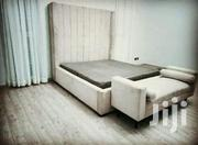 Fabric Bed and Bench   Furniture for sale in Central Region, Kampala
