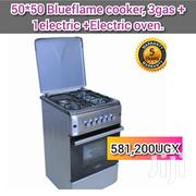 Blueflame Cooker, 3gas Burner + 1electric Hot Plate + Electric Oven | Kitchen Appliances for sale in Central Region, Kampala