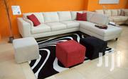 White Leather L Shape Sofa | Furniture for sale in Central Region, Kampala