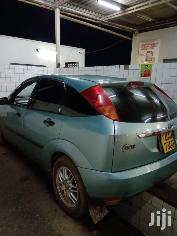 Archive: Ford Focus 2001 Green
