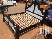 Leathered King Size Bed | Furniture for sale in Central Region, Kampala