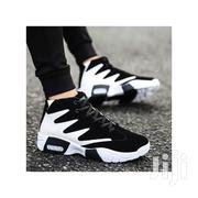 Men's High Top Sneaker - Black/White | Shoes for sale in Central Region, Kampala