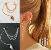 Silver Stainless Stylish Layered Earrings | Jewelry for sale in Central Region, Kampala