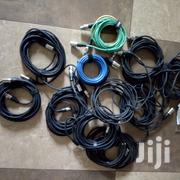 Mic Cable Coloured And Uncoloured Strong   Audio & Music Equipment for sale in Central Region, Kampala