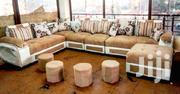 U Sofa and 4 Poufs | Furniture for sale in Central Region, Kampala