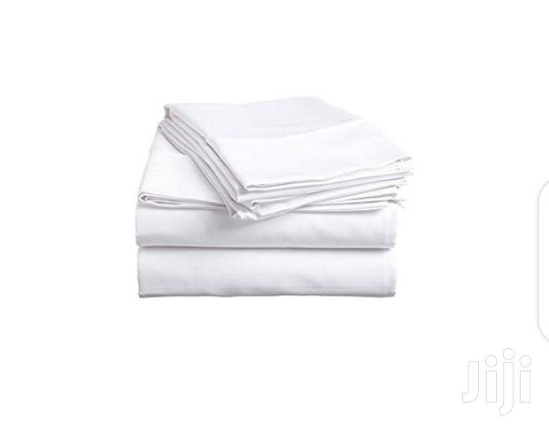 White Bedsheets 5by6 Cotton