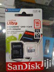 San Disk Ultra 16gb Memory Card With Adapter | Computer Accessories  for sale in Central Region, Kampala