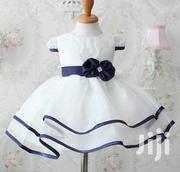 White And Blue Dress | Children's Clothing for sale in Central Region, Kampala