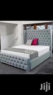 5*6 Spomge Bed With High Head Board | Furniture for sale in Central Region, Kampala