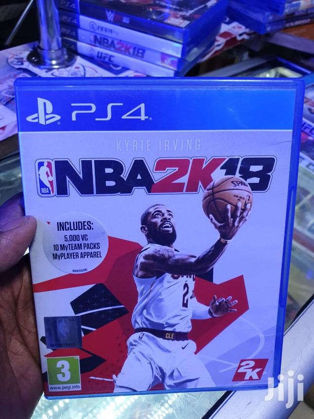 Used Nba 2K18 For Ps4