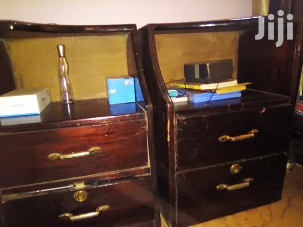 Archive: Bed With Side Drawers Plus Mattress