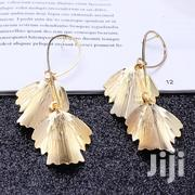 Fancy Jewelry Chunky Metal Leaves Drop Earring for the Casual Duchess. | Jewelry for sale in Central Region, Kampala