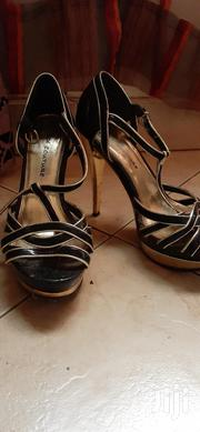 Black And Gold Heels | Shoes for sale in Central Region, Kampala