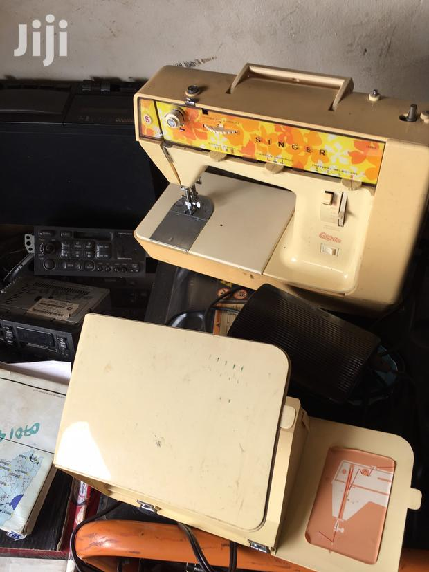 Archive: Singer Electric Table Sewing Machine