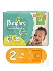 Pampers Size 2 (40 Pcs) 3-8kg | Baby & Child Care for sale in Central Region, Kampala