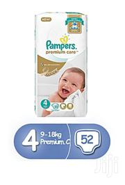Pampers Size 4 (52 Pcs) 9-18kg | Baby & Child Care for sale in Central Region, Kampala