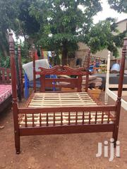 5*6 Bed Mahogany   Furniture for sale in Central Region, Kampala