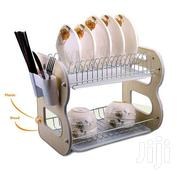 2 Layer Dish Rack Drainer for Utensils Cutlery - Color May Vary | Kitchen & Dining for sale in Central Region, Kampala