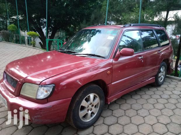 Archive: Subaru Forester 2000 2.0 S Red