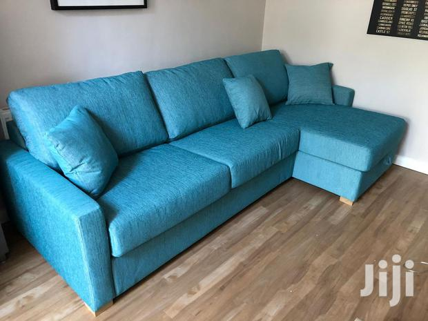 Marins Blue Sofa On Special Orders